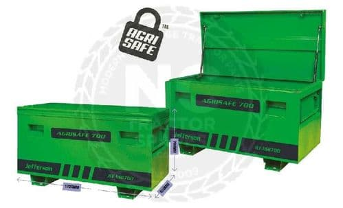 Jefferson Large Agrisafe High Truck / Site Storage Box