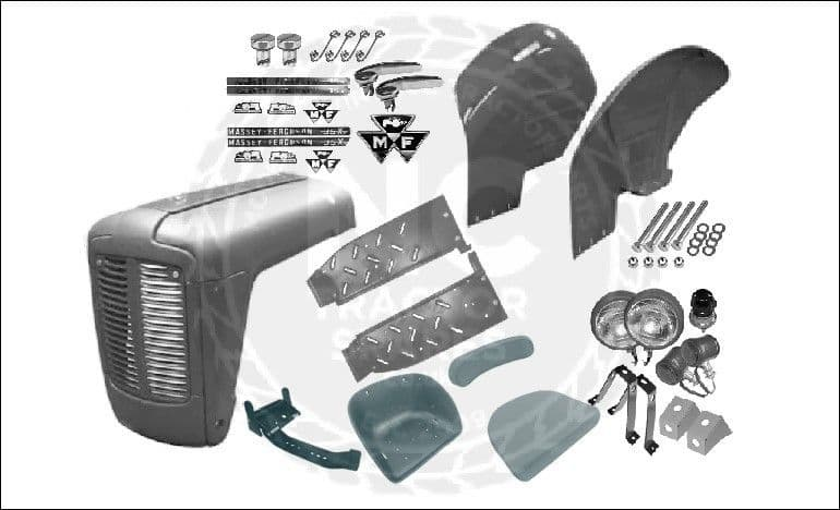 Massey Ferguson 35X Body Panel Kit
