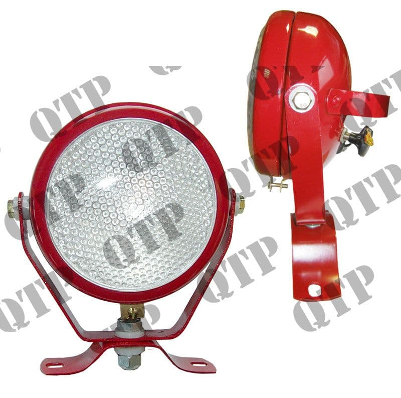 Plough Lamp Butler Type Frosted Lens c/o H3 B