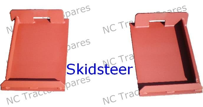 Skidsteer Loader Bracket Pair