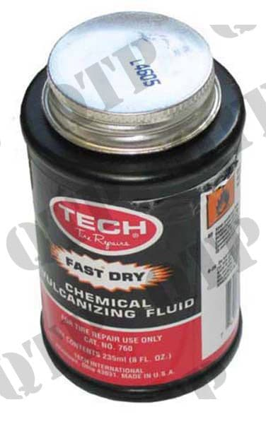 Tin of Solution for patch