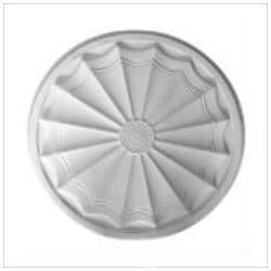 Art Deco Plaster Ceiling Rose 550mm