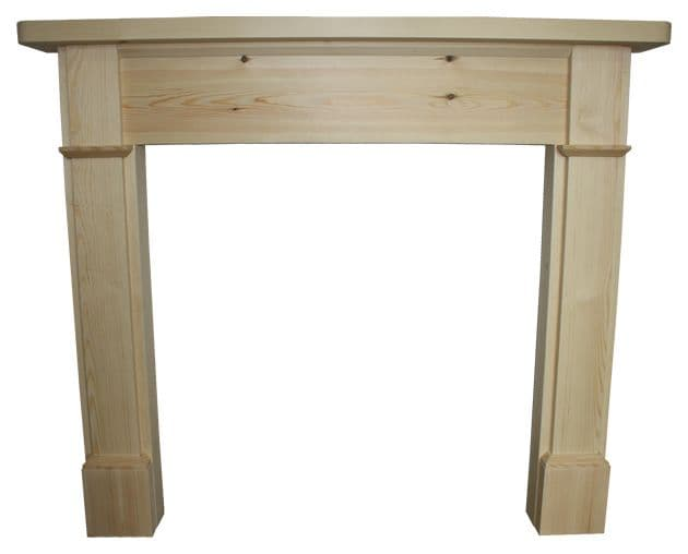 Brompton Wooden Fireplace surround