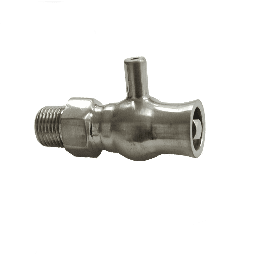 Brushed Nickel Luxury Bleed Valve