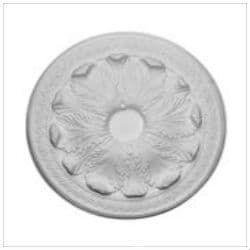 Large Acanthus Plaster Ceiling Rose 534mm
