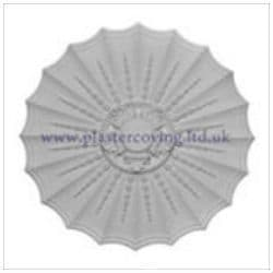 Large Adams Plaster Ceiling Rose 495mm