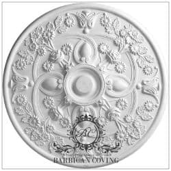 Large Carousel Plaster Ceiling Rose 780mm