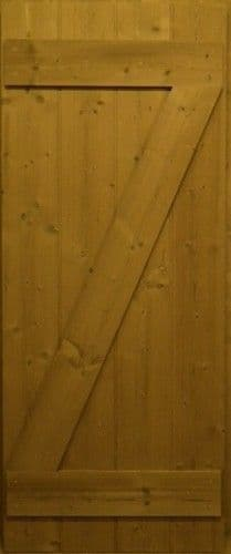 Oak Cottage Door - Single Brace