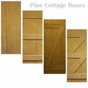 Pine Cottage Doors