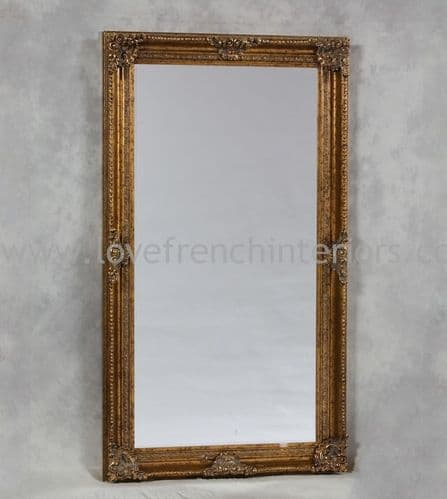 Antique Gold Classic Framed Extra Large Mirror