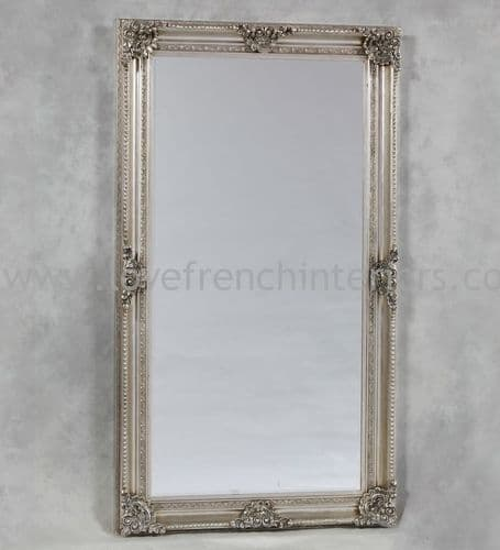 Antique Silver Classic Framed Extra Large Mirror