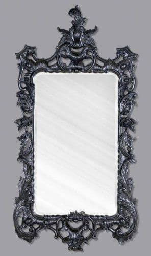 Black Rectangular Mirror