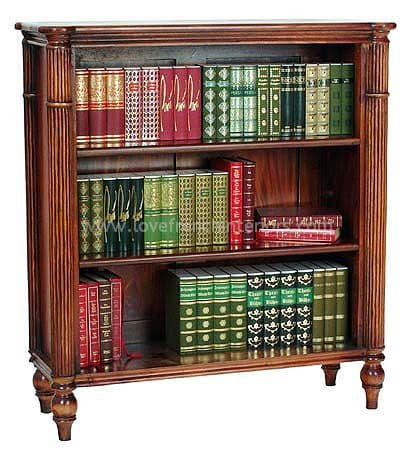 Bookcase with Fluted Front