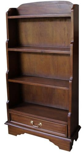 Bookcase with Open Top in Mahogany