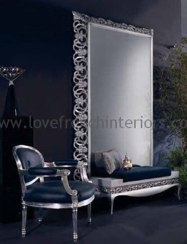 Capri Mirror and Luxus Stool