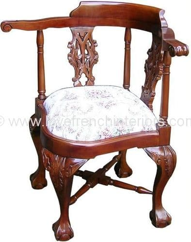 Chippendale Corner Chair