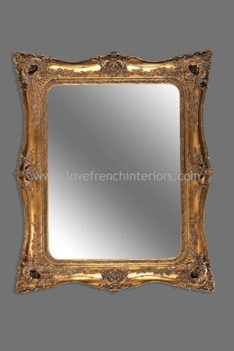 Classic Styled Gold French Mirror