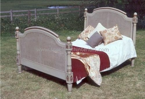 Elise French Rattan Bed