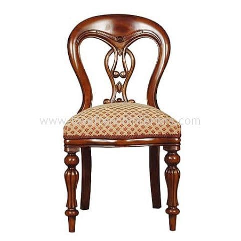 Fiddle Back Bespoke Dining Chair