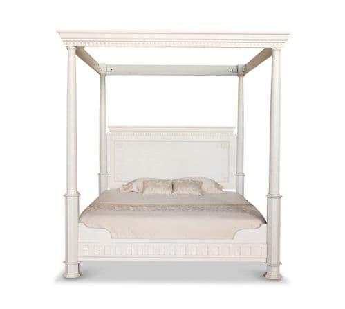 Four Poster Bed with Low Footend