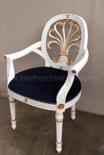 French Fan Armchair