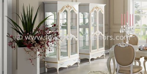 Glamour Display Case Cabinet
