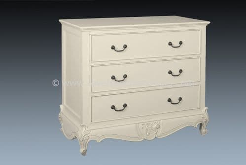 Louis 3 Drawer Chest of Drawers