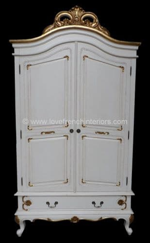 Louis Bespoke French Armoire Wardrobe