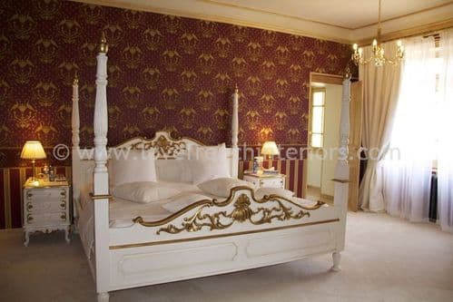 Louis XV Four Poster Bed Kingsize