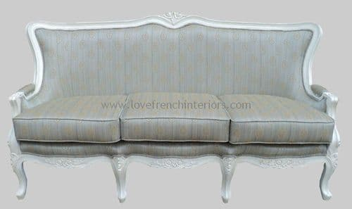 Louis XVI Three Seat Sofa
