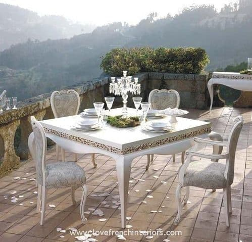 Luxus Square Dining Table