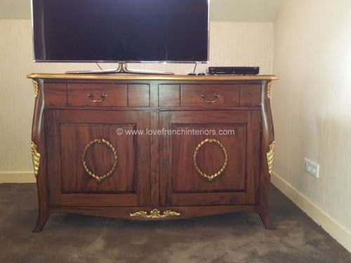 Mini Bar or Louis Cabinet in Mahogany