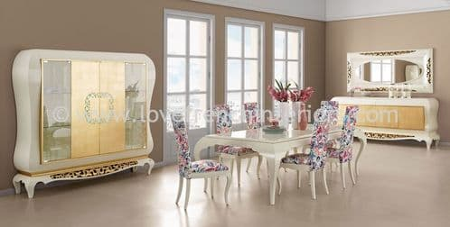 New York Gold Dining Collection