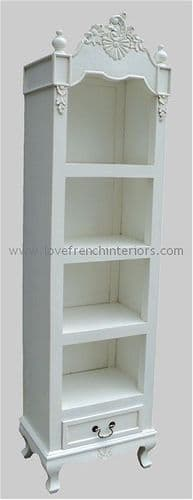 Rochelle French Bookcase or Cabinet