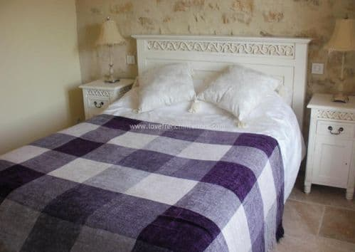 Rochelle Fret Work Bed in your choice of colour