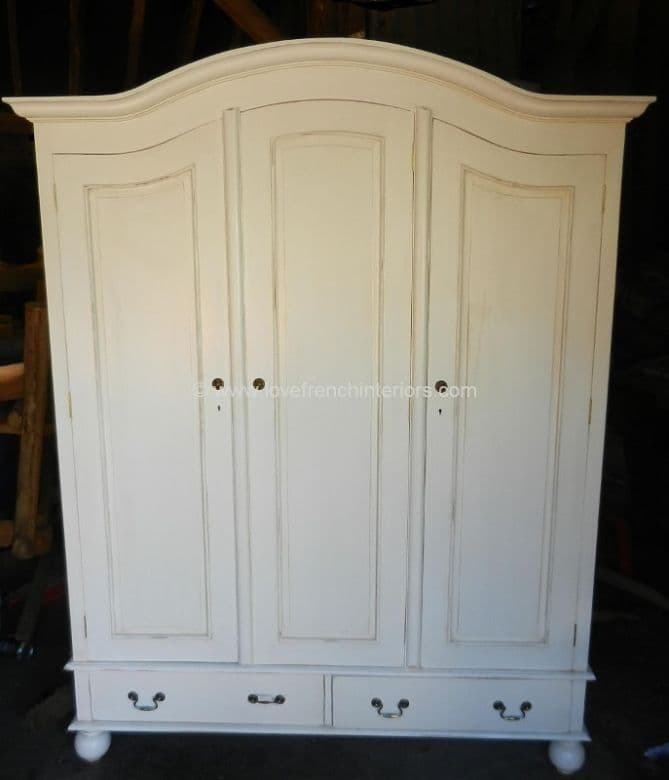 Rochelle Star Four Door Wardrobe in your choice of colour