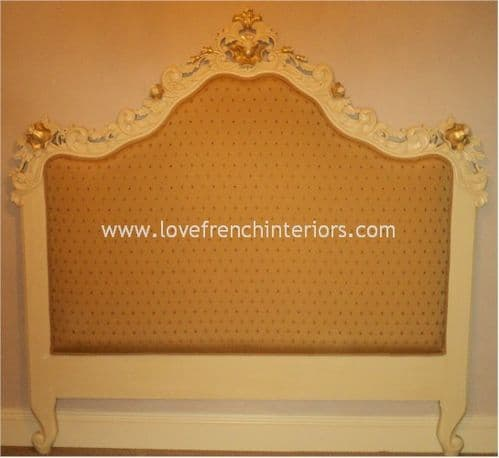 Rococo Ornate Headboard Single