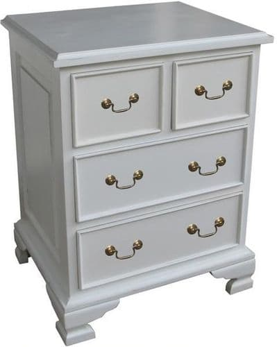 Sleigh Four Drawer (2 over 2) Chest