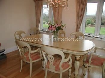 Victorian 'D' End Dining Table up to 265cm long
