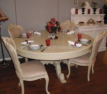 Victorian Round Dining Table 150cm