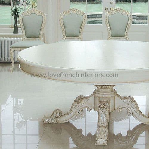 Victorian Round Dining Table 210cm