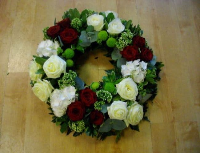 wreath 4 - size 14""
