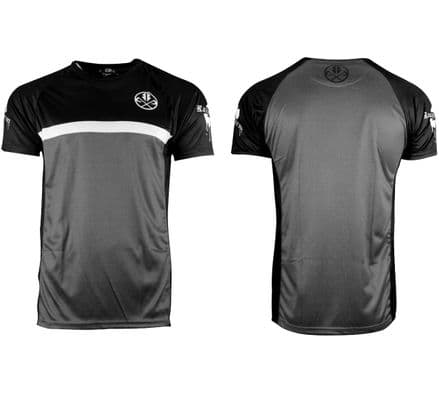 20PRGT01 performance rugby top - Grey stripe