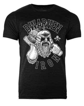 S356 Dark Dwarven Iron T-shirt Heather Black