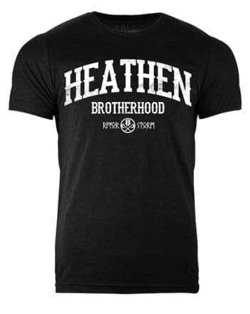 S357 HBH T-shirt Heather Black
