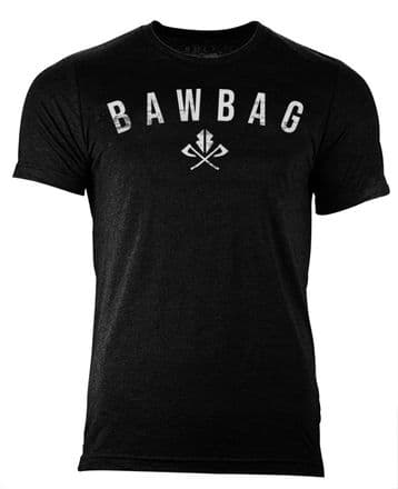 S58 BawBag Tee - Heather black
