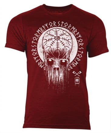 S69 Decay T-shirt Heather Cardinal