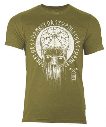 S69 Decay T-shirt Heather Olive