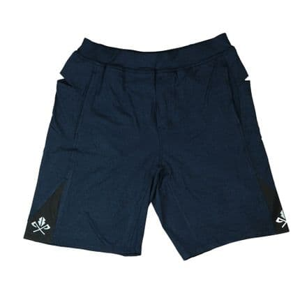 PE shorts - Heather Navy