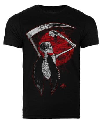 Reapers Moon - Heather Black Tee